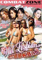 Wet Lesbians Weekend DVD front cover