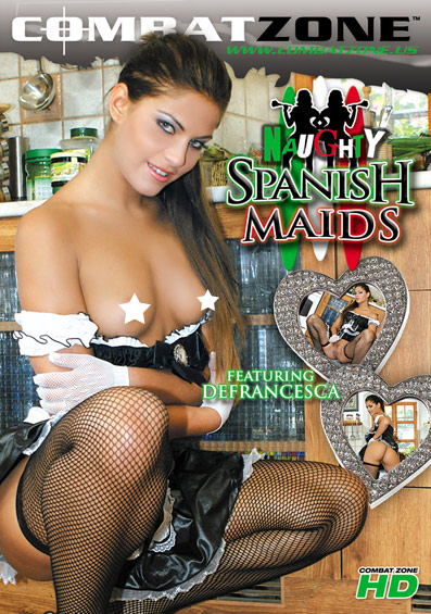 Naughty Spanish Maids Front Cover (PG Edit)