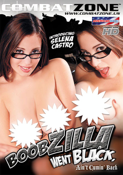 Boobzilla Went Black, Ain't Cumin' Back Front Cover (PG Edit)