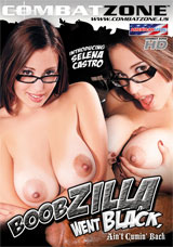 Boobzilla Went Black, Ain't Cumin' Back DVD front cover
