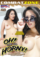 Oh! Me So Horny! DVD front cover