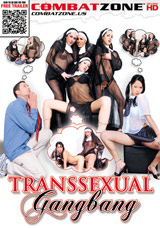 Transsexual Gangbang DVD front cover