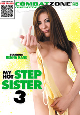 My Hot Stepsister #3 DVD front cover