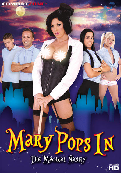 Mary Pops In, The Magical Nanny Front Cover (PG Edit)