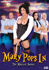 Mary Pops In, The Magical Nanny DVD front cover