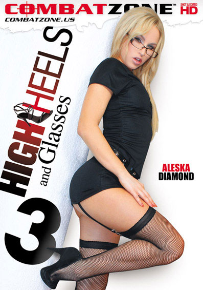 High Heels And Glasses #3 Front Cover (PG Edit)