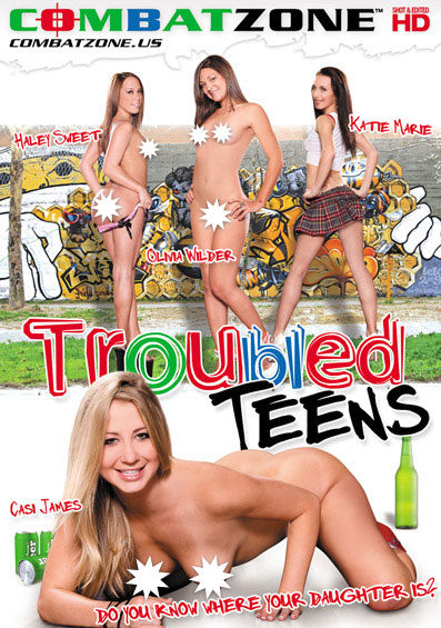 Troubled Teens Front Cover (PG Edit)
