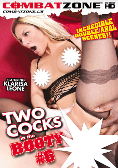 Two Cocks In The Booty #6 Front Cover (PG Edit)