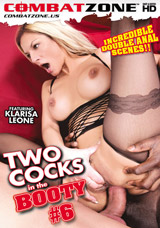 Two Cocks In The Booty #6 DVD front cover