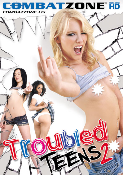 Troubled Teens #2 Front Cover (PG Edit)