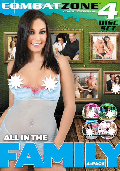 All In The Family 4 Pack Front Cover (PG Edit)