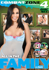 All In The Family 4 Pack DVD front cover