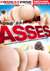 Calling All Asses DVD front cover
