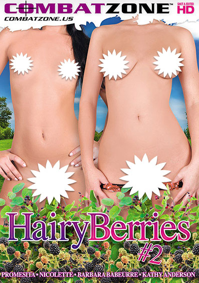 Hairy Berries #2 Front Cover (PG Edit)