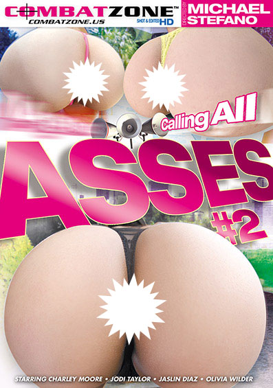 Calling All Asses #2 Front Cover (PG Edit)