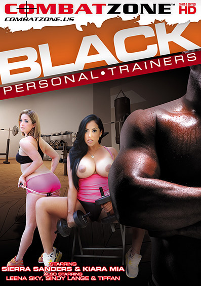 Black Personal Trainers DVD front cover