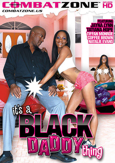 It's A Black Daddy Thing Front Cover (PG Edit)