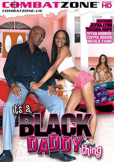It's A Black Daddy Thing DVD front cover