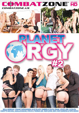 Planet Orgy #2 DVD front cover