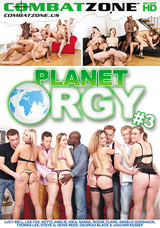 Planet Orgy #3 DVD front cover