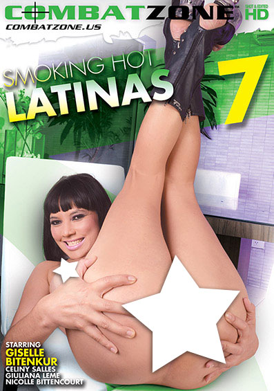Smoking Hot Latinas #7 Front Cover (PG Edit)