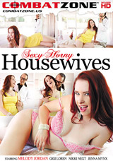 Sexy Horny Housewives DVD front cover