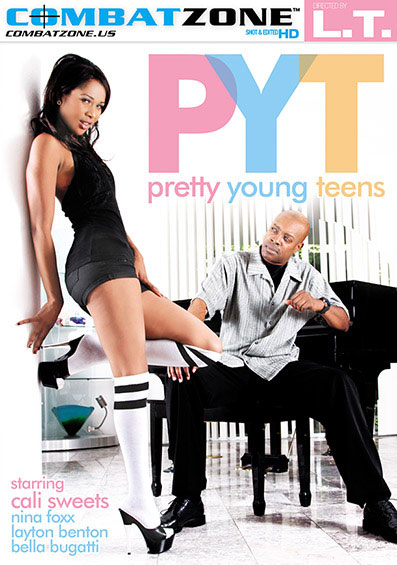 Pretty Young Teens Front Cover (PG Edit)