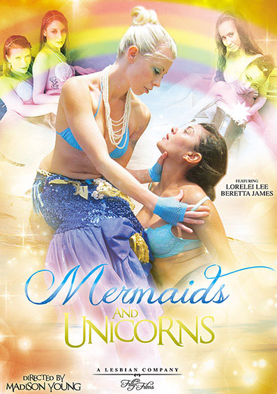 Mermaids And Unicorns Front Cover (PG Edit)