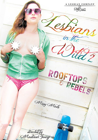 Lesbians In The Wild #2: Rooftops & Rebels Front Cover (PG Edit)