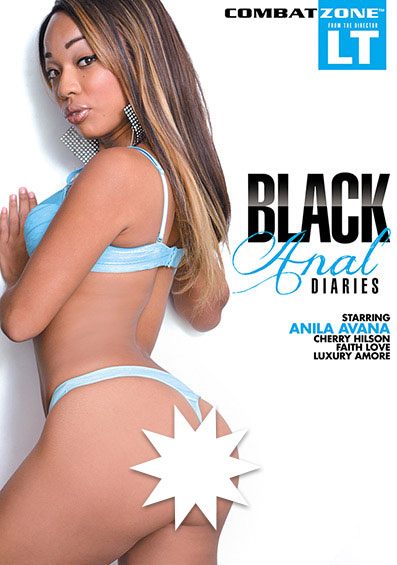 Black Anal Diaries Front Cover (PG Edit)