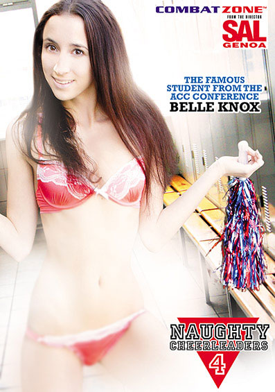 Naughty Cheerleaders #4 Front Cover (PG Edit)