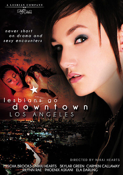 Lesbians Go Downtown Los Angeles Front Cover (PG Edit)