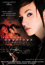 Lesbians Go Downtown Los Angeles DVD front cover