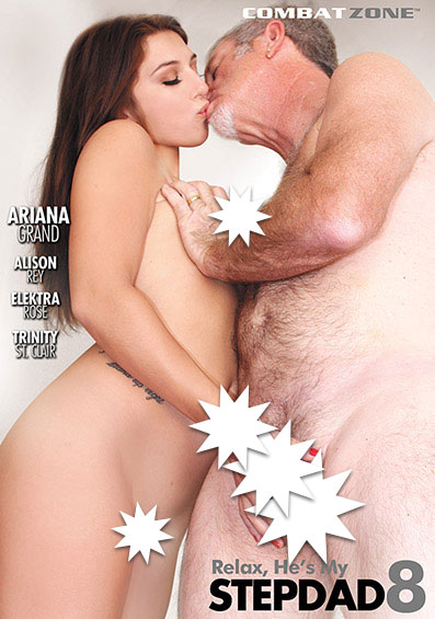 Relax He's My Stepdad #8 Front Cover (PG Edit)