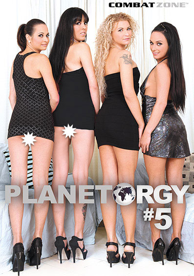 Planet Orgy #5 Front Cover (PG Edit)