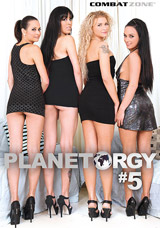 Planet Orgy #5 DVD front cover