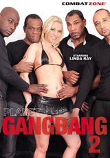 Planet Gang Bang #2 DVD front cover