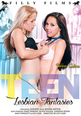 Teen Lesbian Fantasies DVD front cover