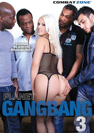 Planet Gang Bang #3 DVD front cover