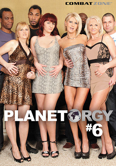 Planet Orgy #6 Front Cover (PG Edit)