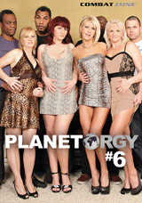 Planet Orgy #6 DVD front cover