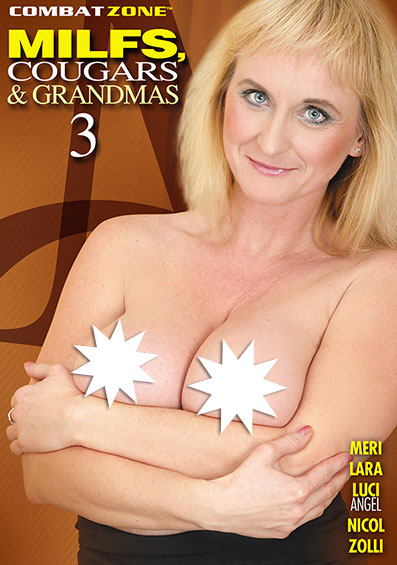MILFS, Cougars, and Grandmas #3 Front Cover (PG Edit)