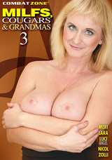 MILFS, Cougars, and Grandmas #3 DVD front cover