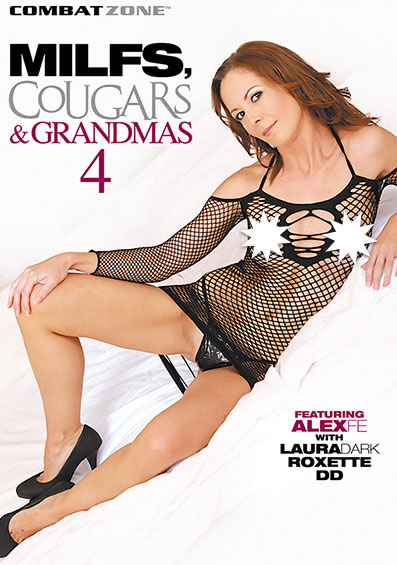 MILFS, Cougars, and Grandmas #4 Front Cover (PG Edit)