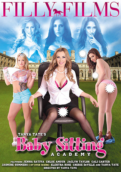 Baby Sitting Academy Front Cover (PG Edit)