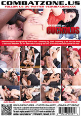 Cum Craving Cuckolds #4 DVD back cover