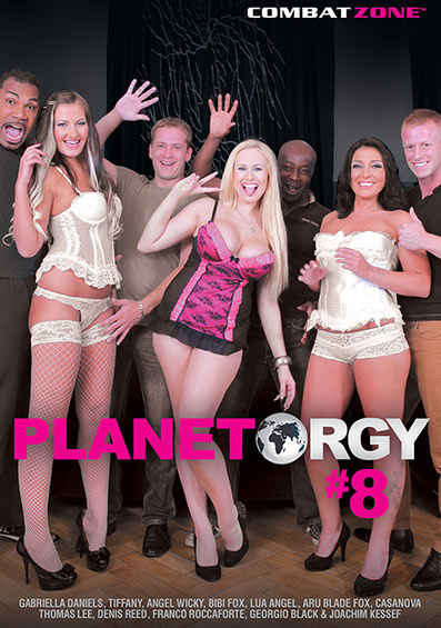Planet Orgy #8 Front Cover (PG Edit)