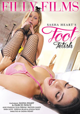 Sasha Heart's Foot Fetish DVD front cover