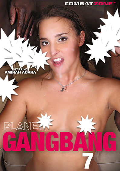 Planet Gang Bang #7 Front Cover (PG Edit)