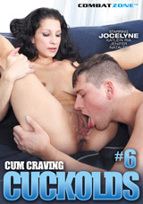 Cum Craving Cuckolds #6 DVD front cover